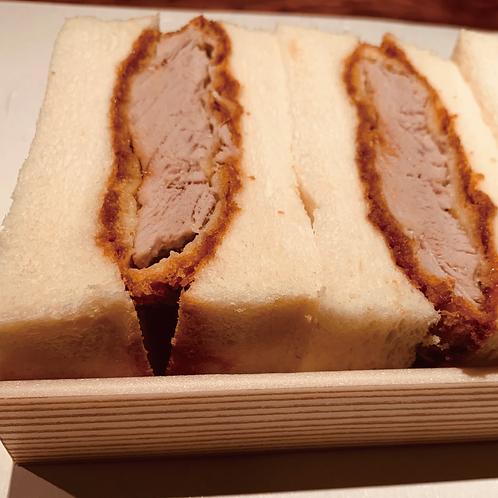 山口県産豚フィレカツサンド