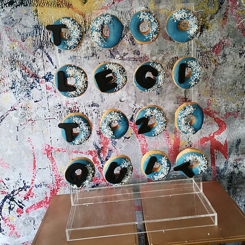 Donut Stand Acrylic, Rental