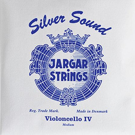 Jargar Silver Sound, Cello String, C
