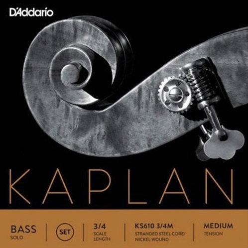 D Addario Kaplan, Bass Strings, Set