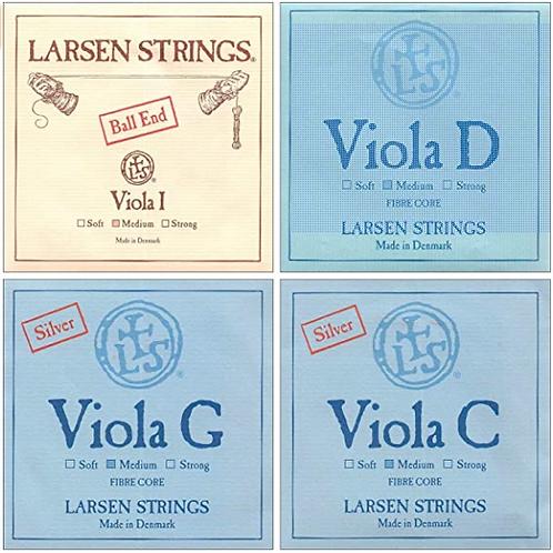 Larsen, Medium, Viola Strings, Set