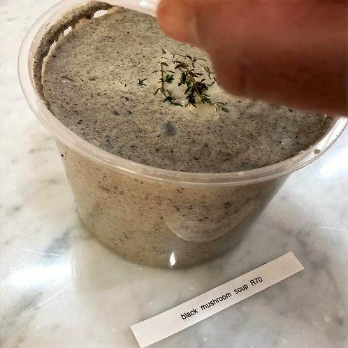 Black Mushroom Soup