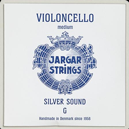 Jargar Silver Sound, Cello String, G