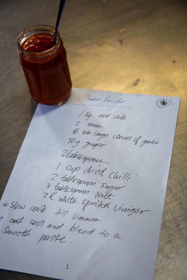 Thabo's Peri Peri Sauce