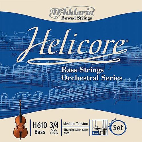 Pirastro D Addario Helicore, Bass Strings, Set
