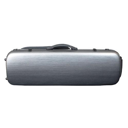 Violin Polycarbonate hard case, 4/4 - 1/2