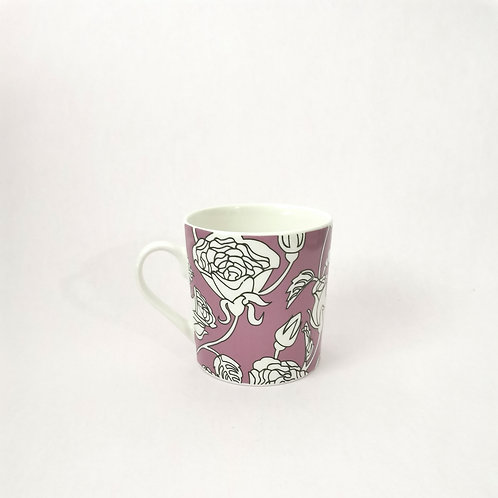 Pink Rose Coffee Mug Rental