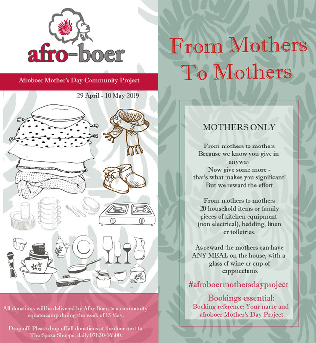 Mother's Day Community Project