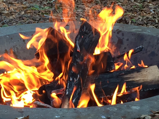 Fire Ceremony at Spirit House