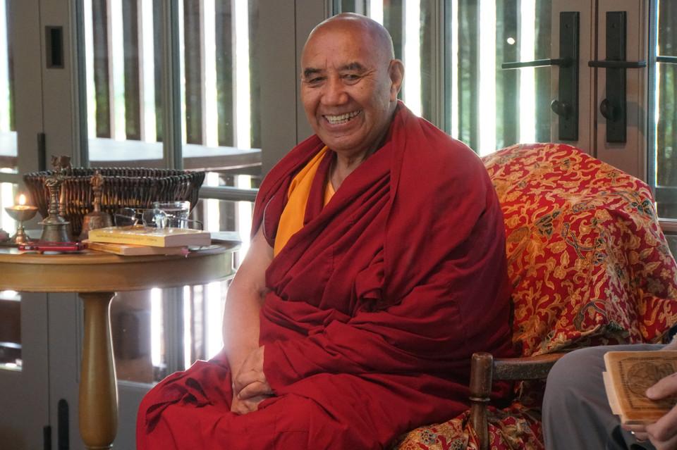 Rinpoche Visits Spirit House