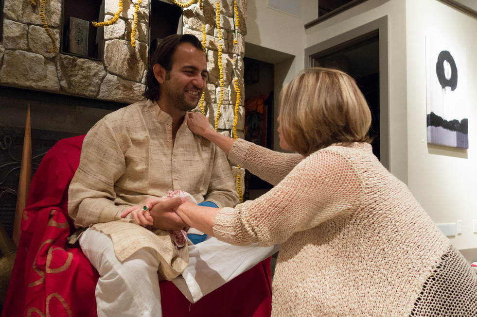 Anand Visits Spirit House