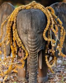 Elephant at Spirit House