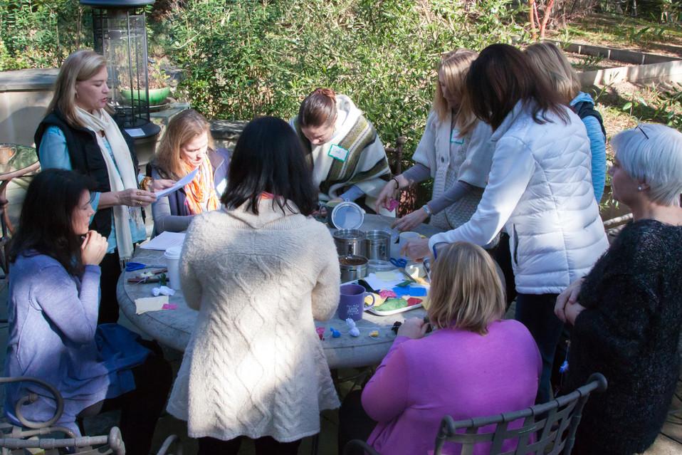 Creating Healing Tools at Spirit House
