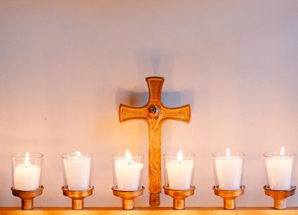 Candles at Spirit House