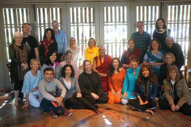 Rinpoche at Spirit House