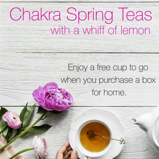 Chakra Spring Teas