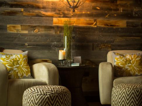 cozy spa lounge