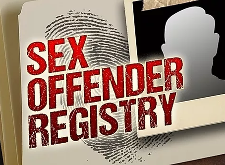 Proposed establishment of a National Sexual Offenders Register