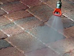 pressure cleaning & sealing to outdoor flooring