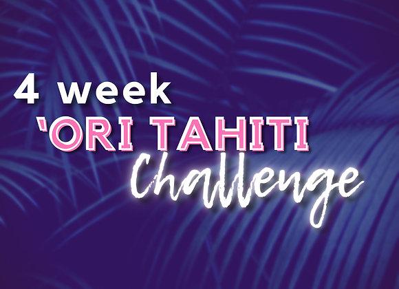 4 week 'Ori Tahiti Challenge