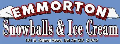 Emmorton Snowballs and Ice Cream