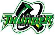 Emmorton Thunder Softball Logo