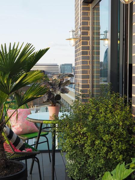 London Bridge Balcony Garden