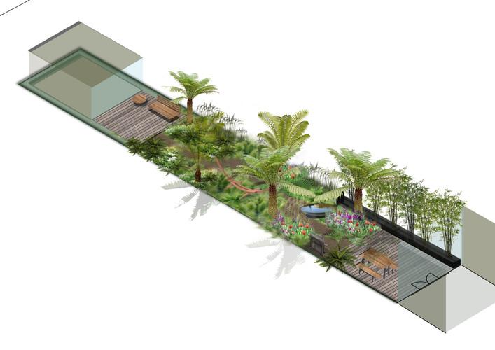 Belsize park garden