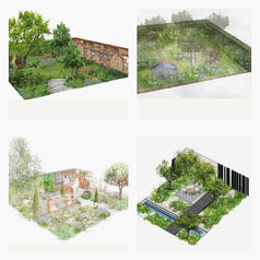 One of the best things about being a part of this new category at _the_rhs Hampton Court Flower Show this year called 'Lifestyle Gardens' is