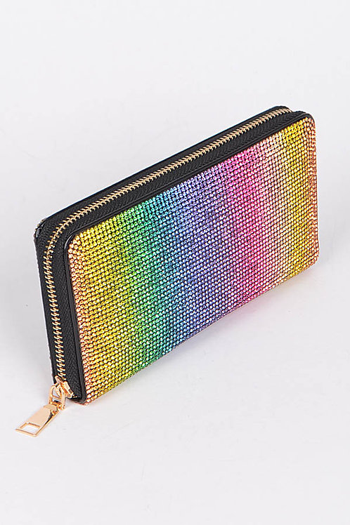 Rainbow Wristlet