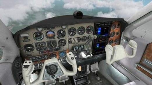Flight sim VR demo
