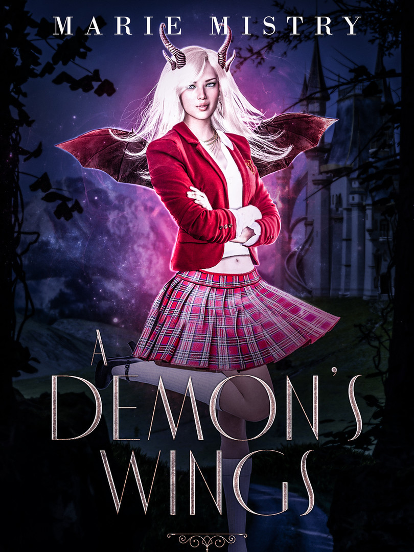 A Demon's Wings (Vice College For Young Demons: Year Three) 