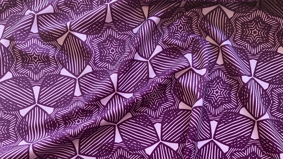 AÏKO pourpre et rose poudré - tissus swimwear en précommande