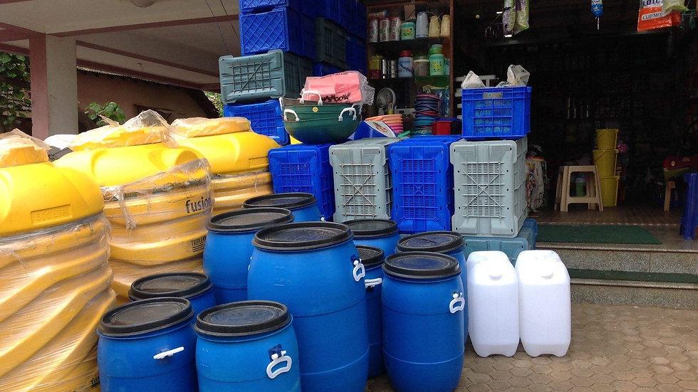 сдать, скупка пластиковых пустых канистр за деньги в Краснозаводске.