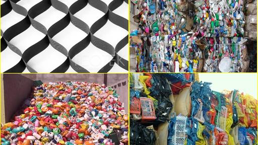 Завод по переработке пластика в Солнечногорске.