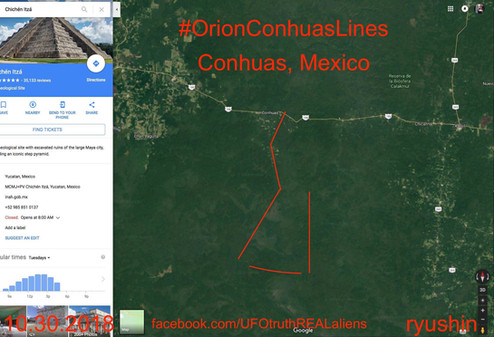 The Orion Lines Conhuas