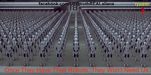 Robots To Replace Humanity