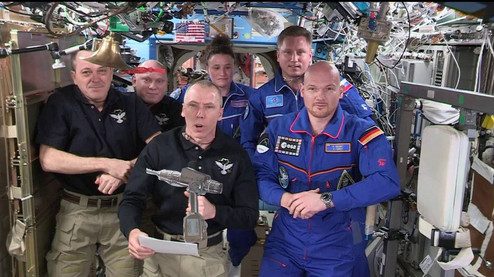 ISS Sabotage The Man With The Drill Got Away With It