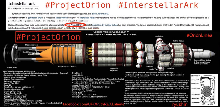Project Orion The Interstellar Ark