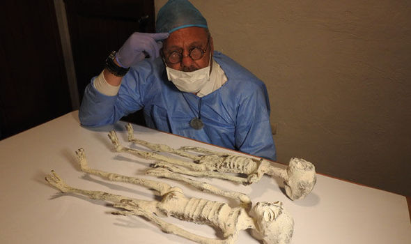 Nazca Alien Mummies