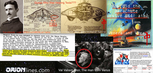 Tesla Was Getting Help And Was Possibly From Venus