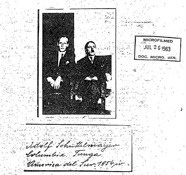 Adolf Hitler 1963 picture - Adolph Schut