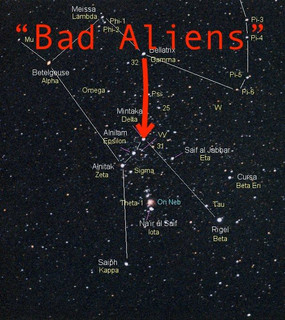 """Mintaka Were The """"Bad Aliens"""" Come From"""