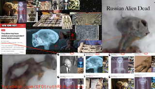 """Ryushin Made NASA Admit """"Tiny Super Intelligant Alien Beings"""" Are Real By Attacking Their Twitter Account With Thousands Of Pictures Of Aliens.  And Russian Alien Connection To The Nazca Aliens"""