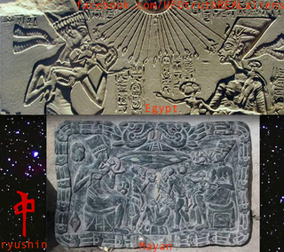 Egyption to Mayan Connection