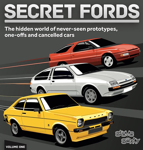 Secret Fords Volume One - Standard Edition (includes free launch poster)