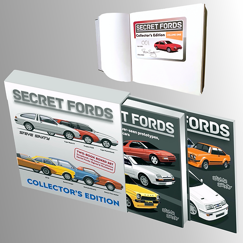 Secret Fords Vol One Collector's Edition Two-book Boxed Set