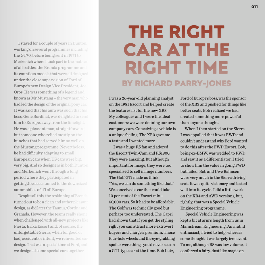 Foreword Secret Fords Vol One