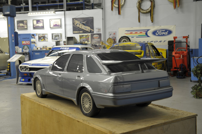 Five-door Cosworth rear