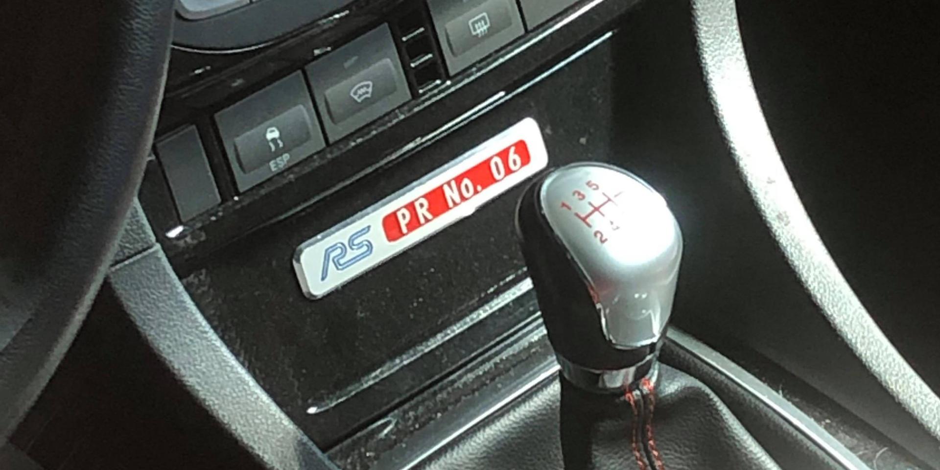 Preproduction car 006